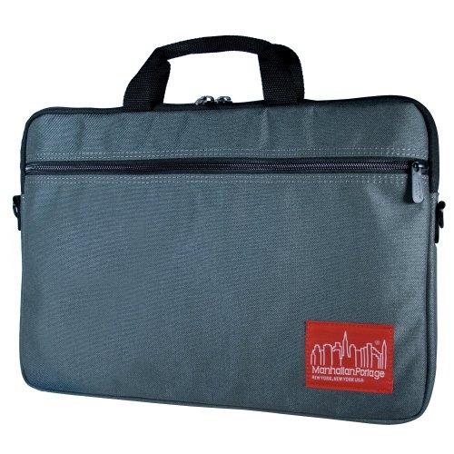 Manhattan Portage Convertible Laptop Bag (Gray, Small)