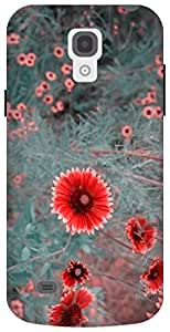 The Racoon Grip hippie daisies dull hard plastic printed back case / cover for Samsung Galaxy S4 Mini
