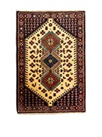 Navaei & Co. Alfombra Persian Yalameh Beige/Marrón 154 x 103 cm