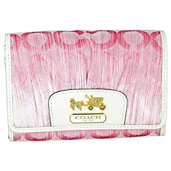 Coach Madison OP Art Pink Wallet 42745B4P1