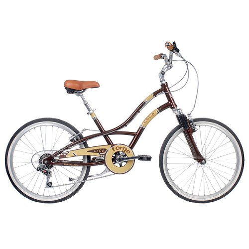 Women's Forge Coco Comfort Style Bike – Brown (15″)