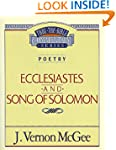 Ecclesiastes / Song of Solomon (Thru...