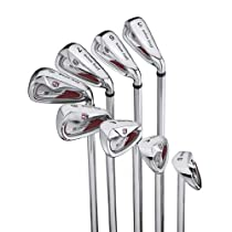Wilson Staff Di9 Steel Iron set (Mens Right Hand, True Temper TX99 Lightweight steel, 5-pw, gw, aw Uniflex)