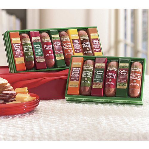 The Swiss Colony Sausages 'n Cheese Bars 6-Piece