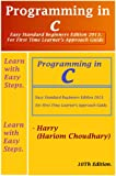 img - for Programming in C (C Programming Language 1 I ( Final Golden Edition ) Beginners to Experts Approach Guide) book / textbook / text book
