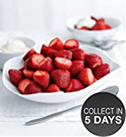 Fresh Strawberries & Cream Platter