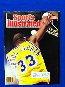 1987 Sports Illustrated June 22 Kareem Abdul-Jabbar (Lakers Win Title) Los Angeles Lakers Near-Mint