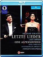 Letzte Lieder/Eine Alpensinfonie [Blu-ray]
