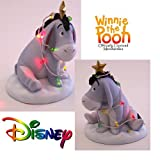Disney Pooh & Friends   You Light Up My Season EEYORE FIGURINE christmas gift ideas for dad