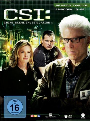 CSI: Crime Scene Investigation - Season 12.2 [Limited Edition] [3 DVDs]