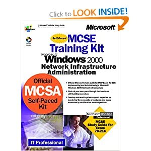 MCSE Training Kit Microsoft Windows 2000: Network Infrastructure Administration Microsoft Corporation
