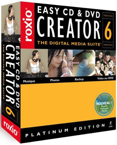 Easy Cd & Dvd Creator Platinum - (Version 6 ) - Ensemble Complet - 1 Utilisateur - Win - Français