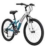Diamondback Bicycles 2015 Tess 24 Complete Hard Tail Mountain Bike, 24-Inch Wheels/One Size, Teal