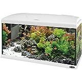 Ferplast 65018011W1 Aquarium Capri 80, Dimensions: 80 x 31.5 x 46.5 cm, 100 Litres, White
