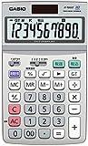 カシオ スタンダード電卓 時間・税計算 ジャストタイプ 10桁 JF-100GT-N