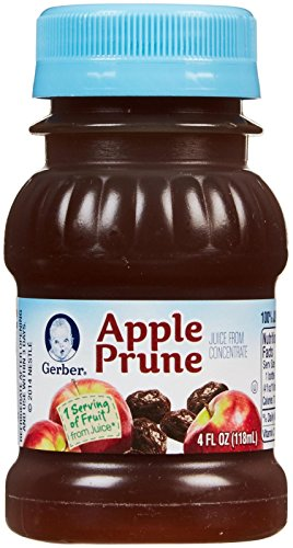 Gerber 100% Juice Apple Prune, 4-Ounce Bottles (Pack of 24) (Baby Apple Juice compare prices)