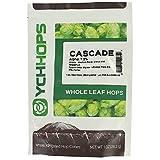 Cascade Hops, Whole Leaf, 1oz (Color: Silver, Tamaño: 1 ounce)