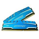 Crucial Ballistx BLS2C4G3D18ADS3CEU Sport XT 8GB (4GBx 2) 240 Pin DIMM DDR3 PC3-14900 Memory Module Kit