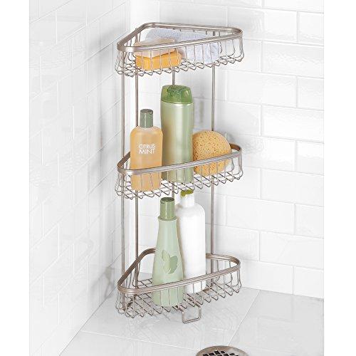 Mdesign Free Standing Bathroom Or Shower Corner Storage