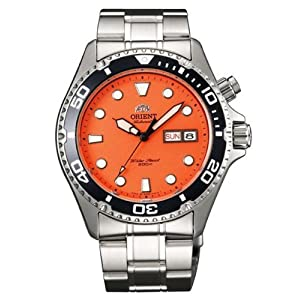 Orient Orange Ray Automatic Dive Watch CEM6500AM