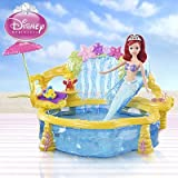 Disney Princess The Little Mermaid - Ariel Pool Party Swiming Pool Play Set (Ariel Doll not included) COMES WITH FREE SEBASTAIN HAND PUPPET