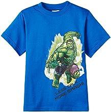 Avengers Boys' T-Shirt (ABTS-1514_Royal Blue_3-4 years)