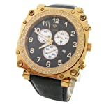 Aqua Master Men's Diamond Chronograph Watch