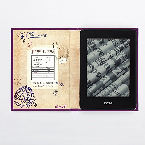 Harry Potter Book Of Spells Kindle Cover : Harry potter inspired kindle paperwhite book cover