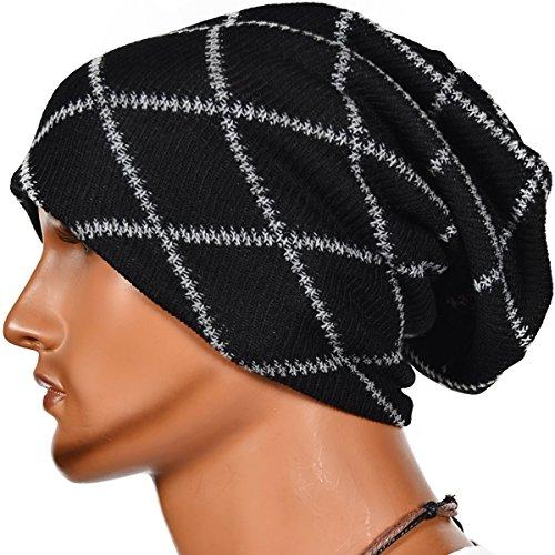 cappello-uomo-invernale-cappelli-beanie-uomo-berretto-in-maglia-berretto-uomo-invernale-nero