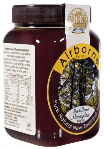 Airborne (New Zealand) Beech Forest Honeydew Honey 500g / 17.85oz