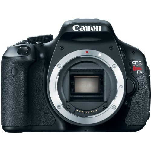 See Canon EOS Rebel T3i 18 MP CMOS APS-C Sensor DIGIC 4 Image Processor Full-HD Movie Mode Digital SLR Camera with 3.0-Inch Clear View Vari-Angle LCD  (Body Only) Details