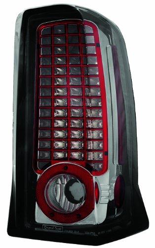 Ipcw Ledt-305Cs Platinum Smoke Led Tail Lamp - Pair