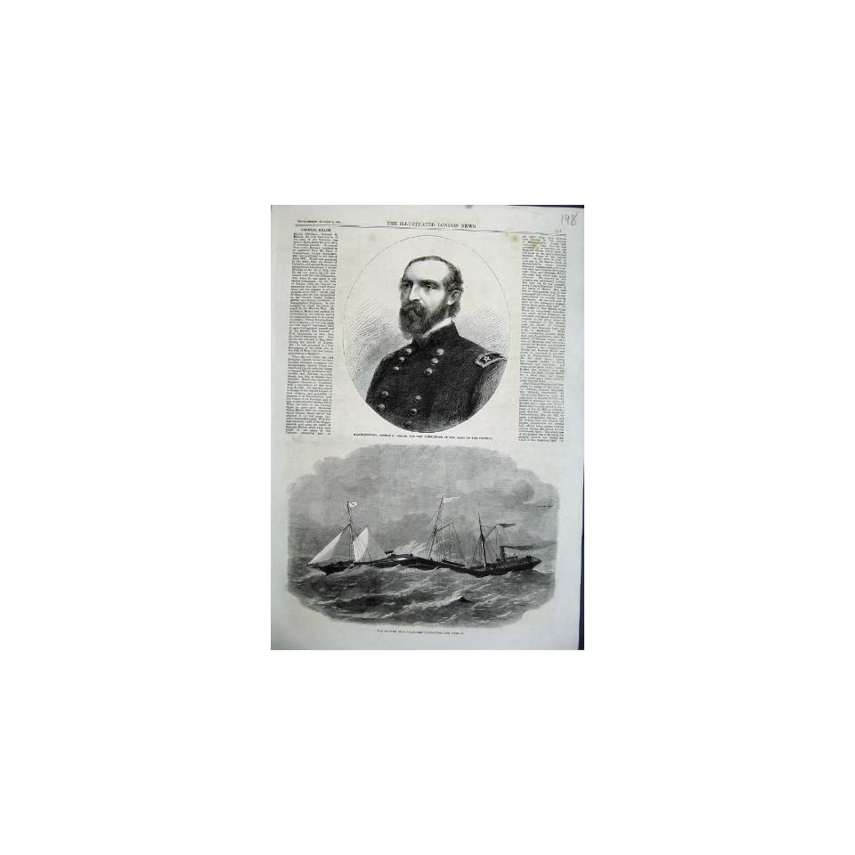 1863 Major General George Meade Iron Ship Connector