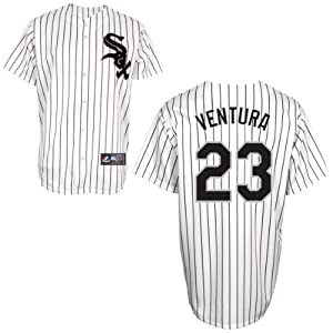 Robin Ventura Chicago White Sox Home Replica Jersey by Majestic by Majestic