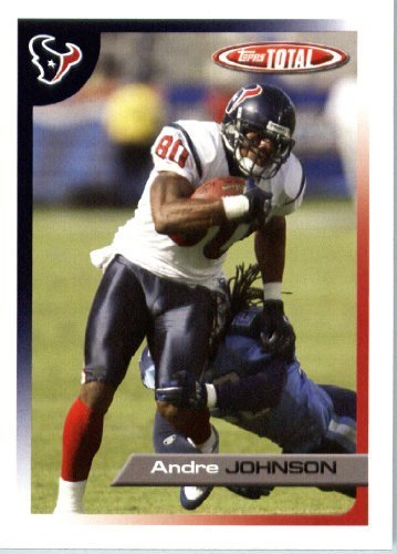 2005 Topps Total Football Karte ( ) # 31 Andre Johnson Houston Texans