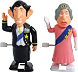 Wind-Up Racing Royals Queens Jubilee Collectable Retro Toy Gift 2 Pack