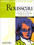 Apprendre � philosopher en lisant Rou...