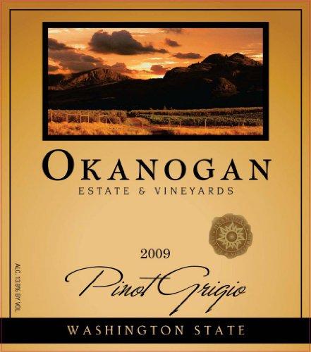 2009 Okanogan Estate & Vineyards Pinot Grigio 750 Ml