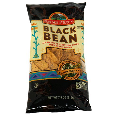 Garden Of Eatin' Tortilla Chips, Black Bean, 7.5 Ounce (Pack Of 12)