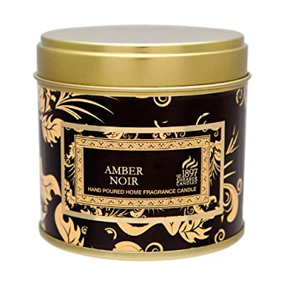 Shearer Candles SC0691 Large Tin Victorian Winter Candles, Black from Shearer Candles
