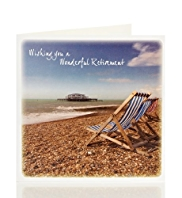 Retirement Beach Card