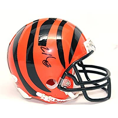 Mohamed Sanu Autographed Cincinnati Bengals Mini Helmet - JSA Certified Authentic