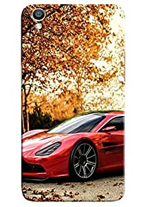 Clarks Sports Car Hard Plastic Printed Back Cover/Case For Oppo F1 Plus