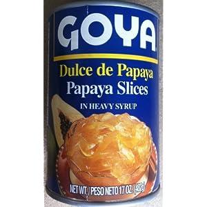 Goya - Dulce de Papaya (Papaya slices in heavy syrup Republica