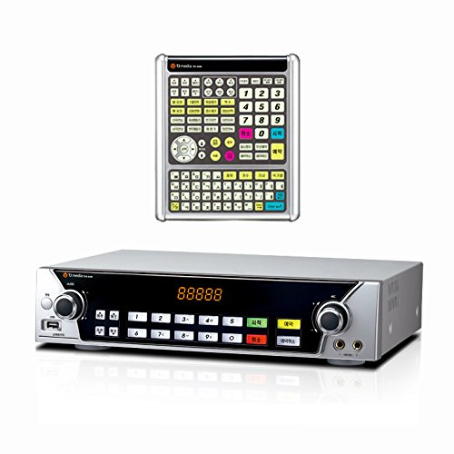 Tj Taijin Media Tkr-304K Home Party Commercial Korean Karaoke Singing Machine 500Gb Hdd System - Korean Edition, For Ntsc Tv + 2 Microphones