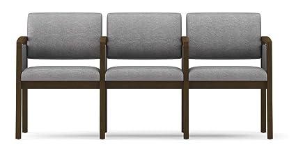 "Lesro L3133G6 Lenox 31.5"" Three Seat Sofa with Center Arm"