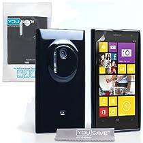 Coque Nokia Lumia 1020 Etui Noir Silicone Gel Housse