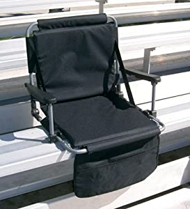 The Original STADIUM MASTER Portable Folding Cushioned Stadium Bench Seat! by World Outdoor Products