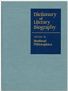 dictionary of literary biography on a lec The oxford dictionary of national biography: dictionary or encyclopaedia - volume 50 issue 4 - james raven.