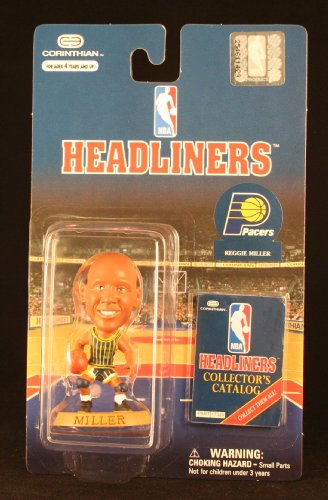 REGGIE MILLER / INDIANA PACERS * 3 INCH * NBA Headliners Basketball Collector Figure